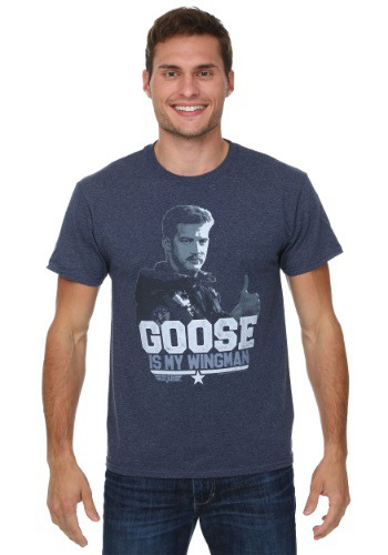 Top Gun Goose Wingin' It Mens Shirt