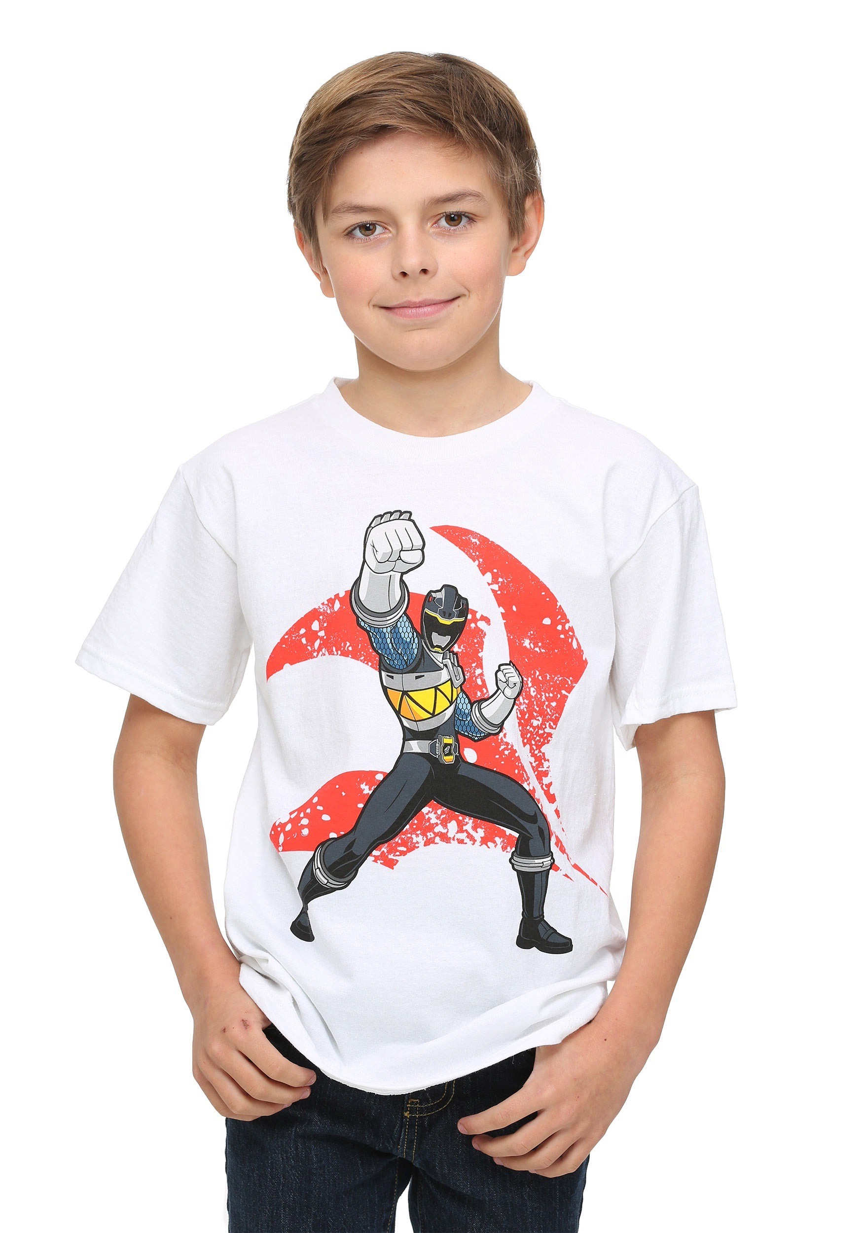 Power Rangers T Shirt Kids