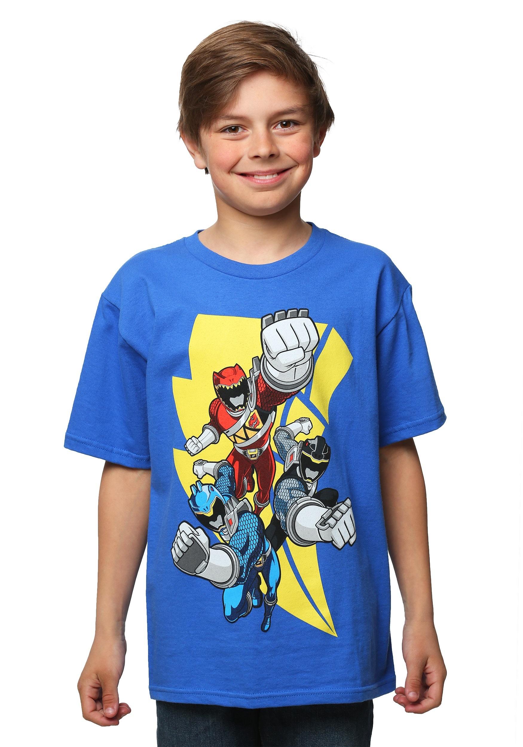 Power Rangers Lightning Strike Rangers Boys T-Shirt MFDG704DAN1S