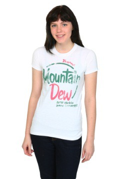 Mountain Dew Vintage Juniors T-Shirt