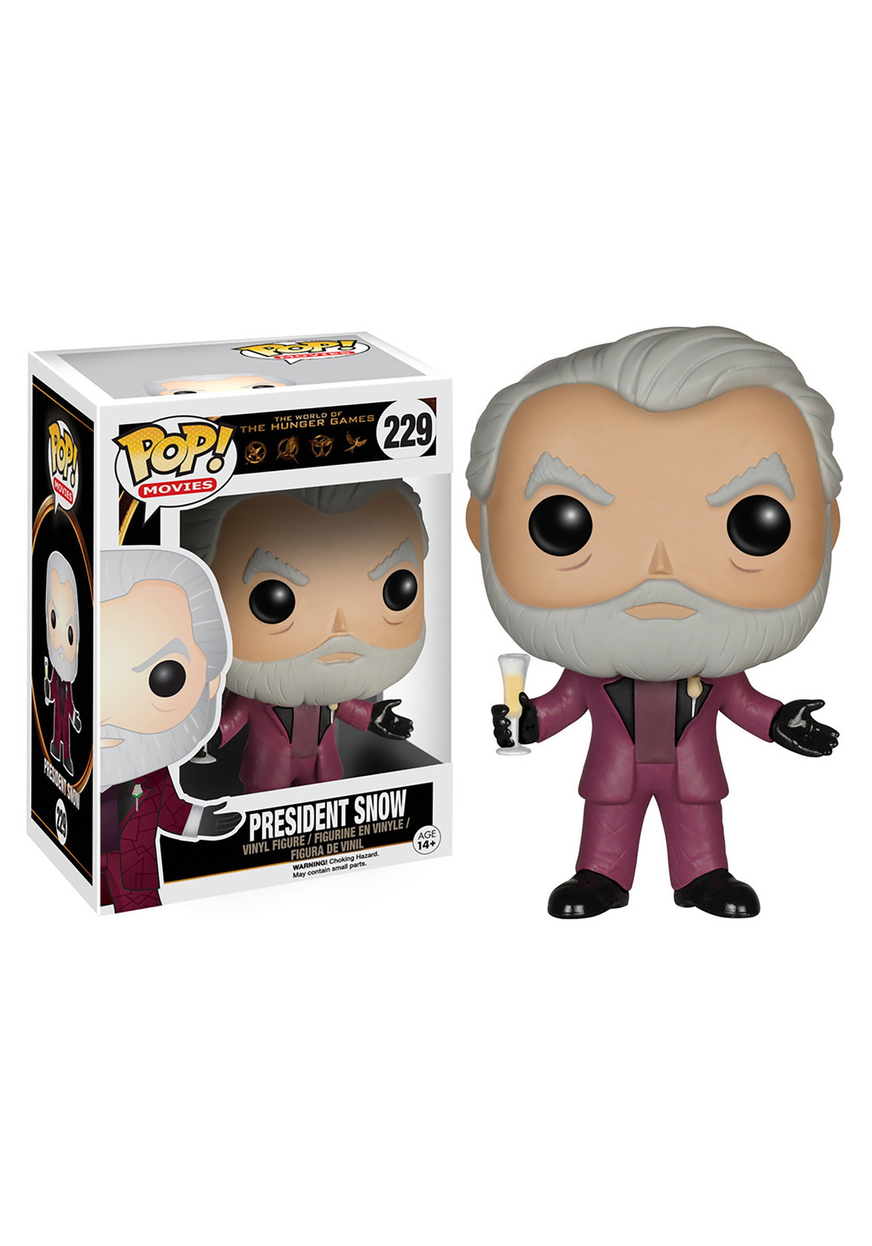 POP! The Hunger Games President Snow Vinyl Figure FN6188