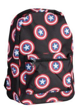 Captain America Shield Emblem Backpack