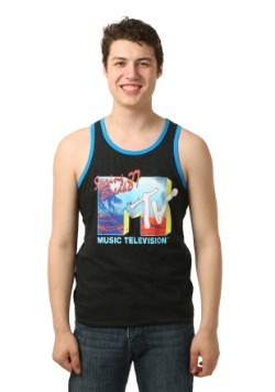 MTV Spring Break '87 Men's Ringer Tank Top