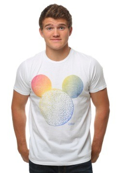 Mickey Mouse Big Head Color Change T-Shirt