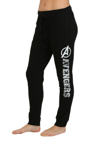 Marvel Avengers Black Jogger Pants