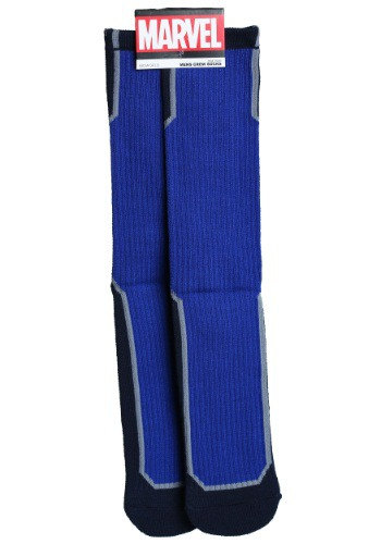 Marvel Captain America Active Crew Socks