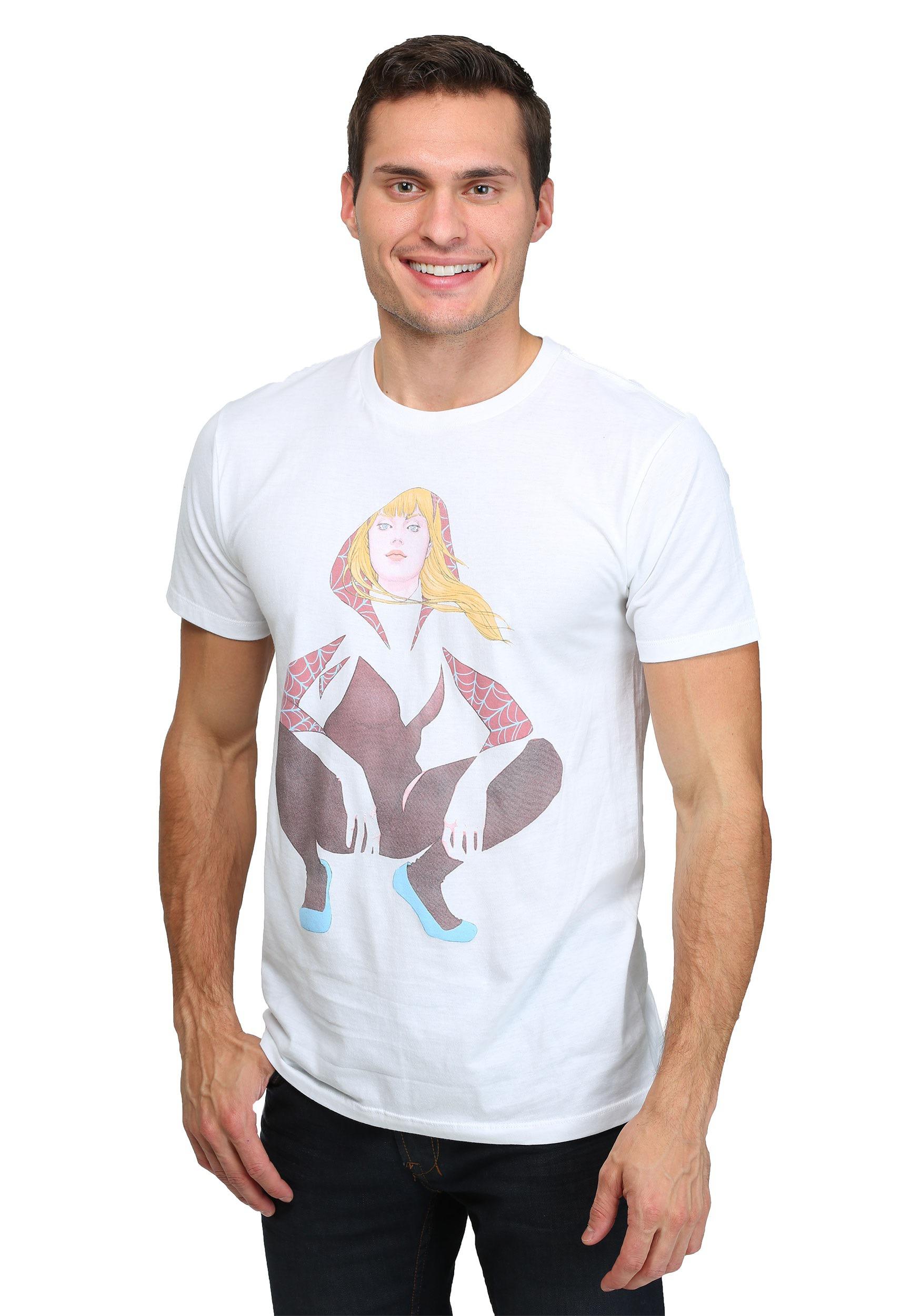 T shirt men white
