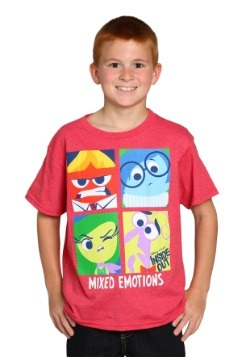 Inside Out Feels Like Red Heather Youth T-Shirt