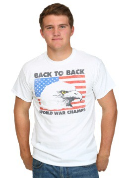 America Back To Back World War Champs Men's T-Shirt