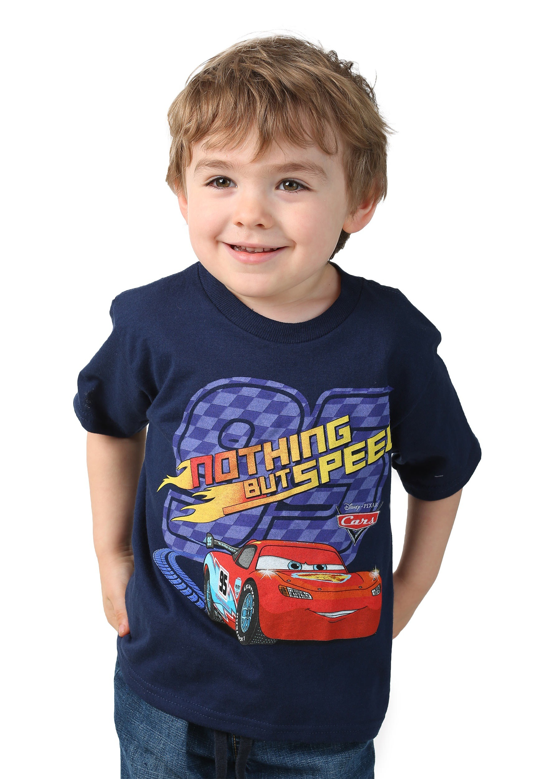 Toddler Boys Disney Cars Nothing But Speed T-Shirt