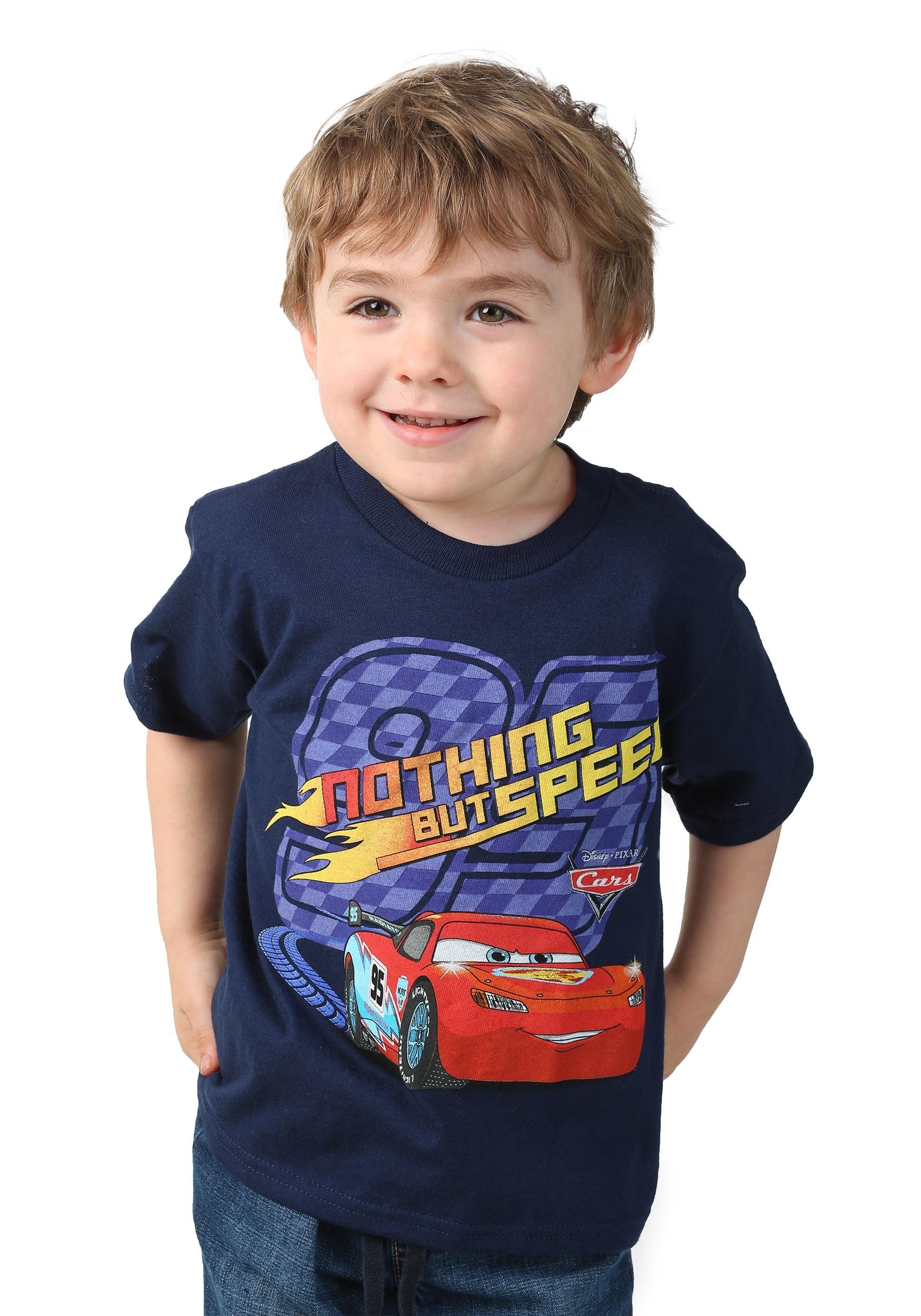 Disney Cars Nothing But Speed Toddler Boys T Shirt