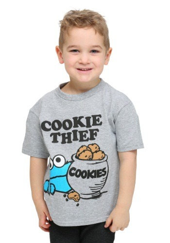 Sesame Street Cookie Thief Toddler Boys T-Shirt
