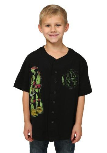 TMNT Boys Baseball Jersey