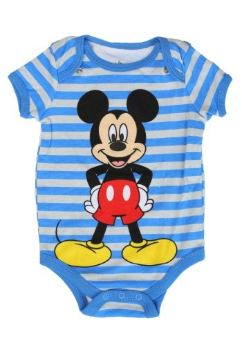 Mickey Onesie with Bib Set