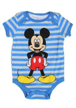 Mickey Onesie with Bib Set