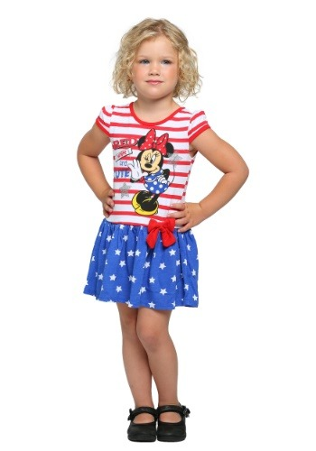 Minnie Mouse Red White and Cute Girls Dress