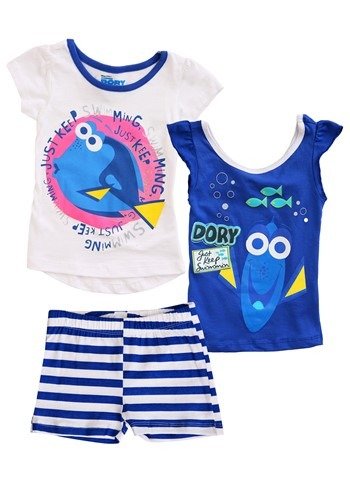 Finding Dory Girls 3 Piece Set