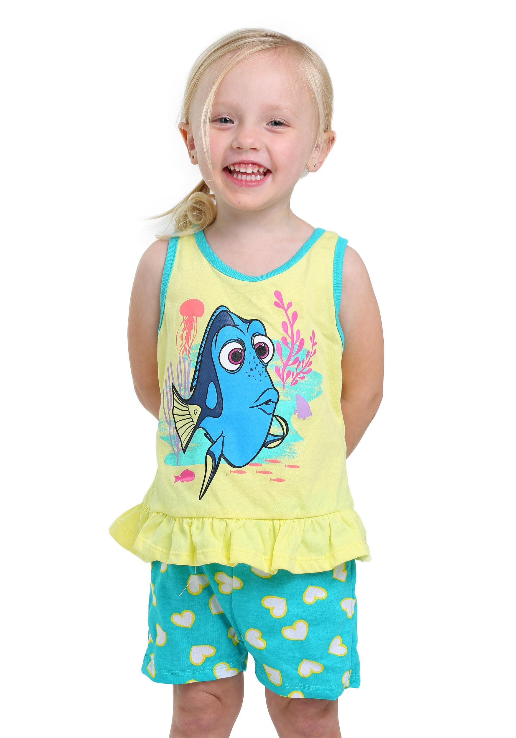 Finding Dory I Love 2 Swim 3 Piece Set