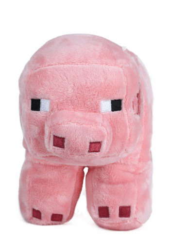 "Minecraft 12"" Pig Stuffed Figure"