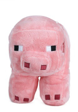 "Minecraft 12"" Pig Stuffed Figure"