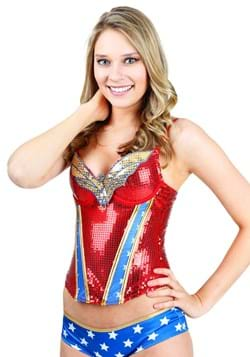 Wonder Woman Sequin Corest