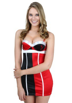 Harley Quinn Stretch Satin Chemise