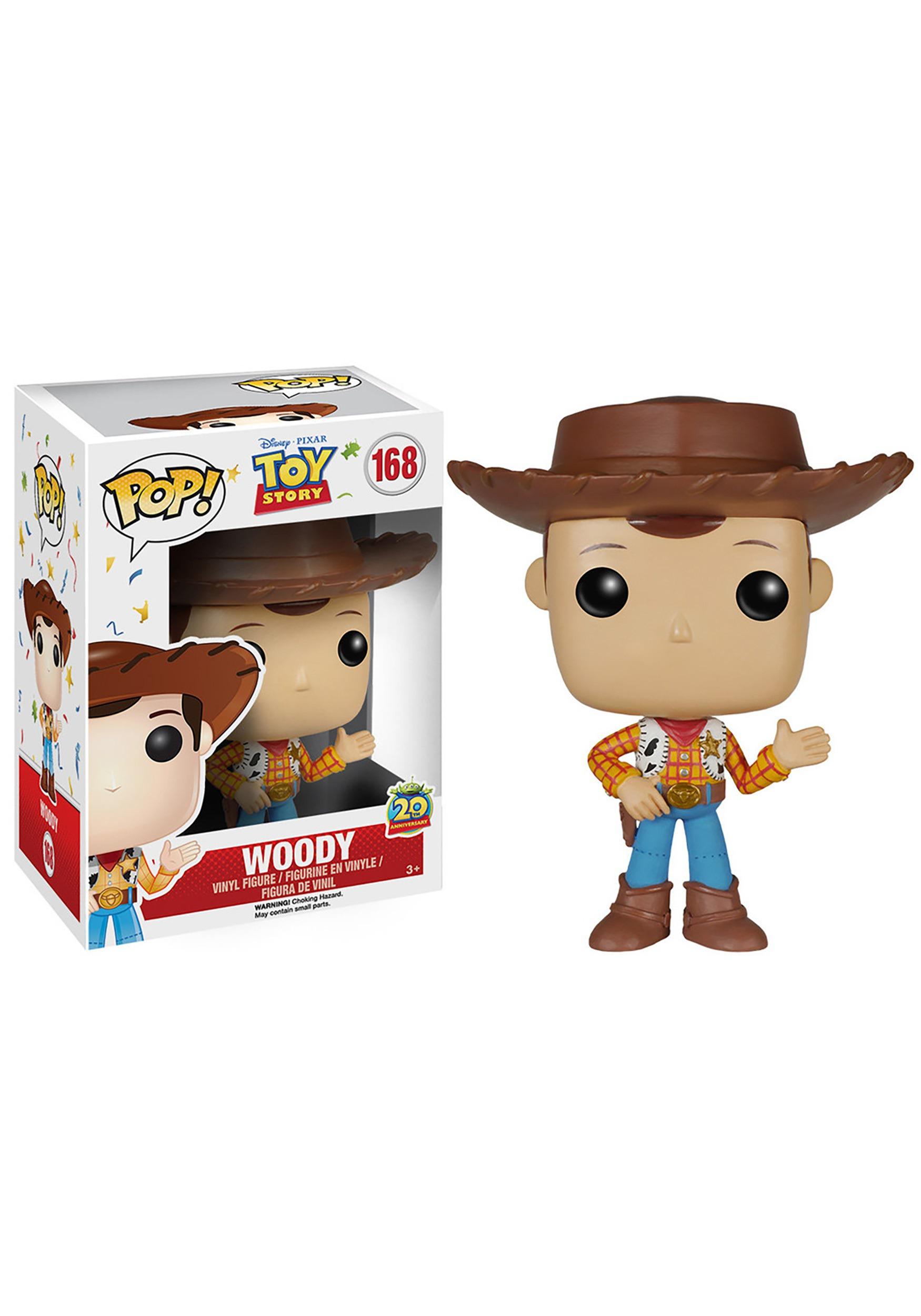 Pop Disney Toy Story Woody Vinyl Figure