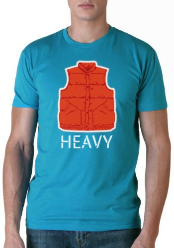 Back to the Future Heavy T-Shirt