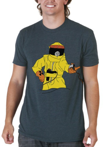 Back to the Future Marty Hazmat T-Shirt