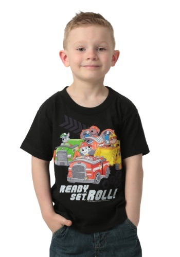 Paw Patrol Ready Set Roll Boys T-Shirt