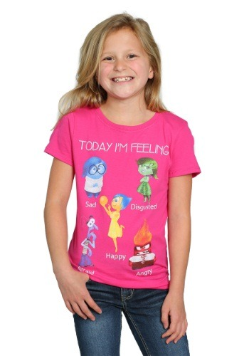 Inside Out I'm Feeling Girls T-Shirt