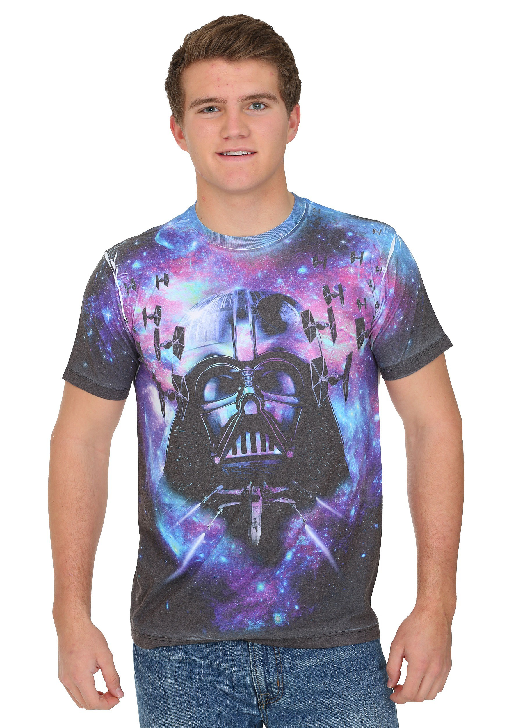 Star wars deep space sublimated men 39 s t shirt for Mens shirt with stars