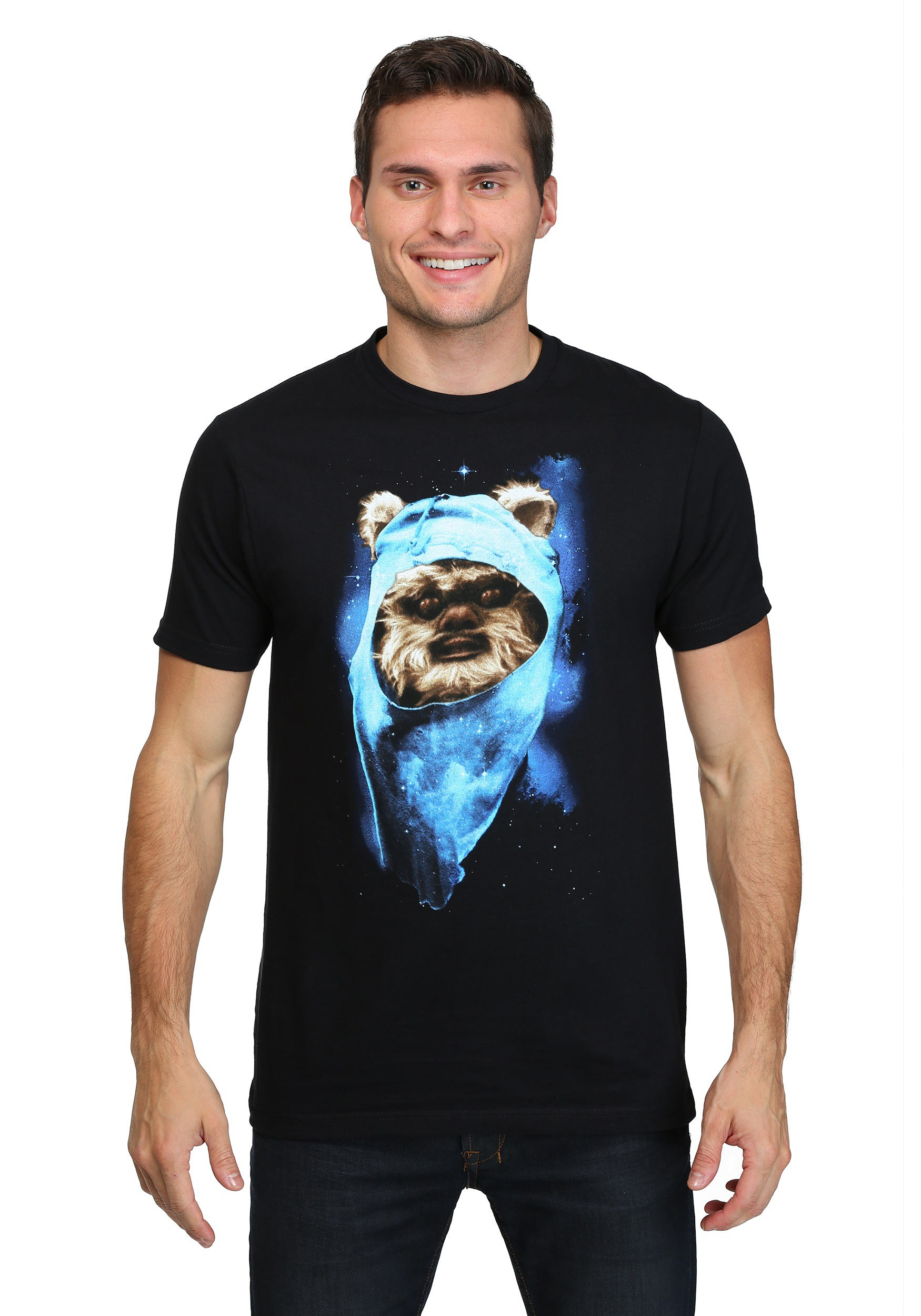 star wars ewok spaced out men 39 s t shirt. Black Bedroom Furniture Sets. Home Design Ideas