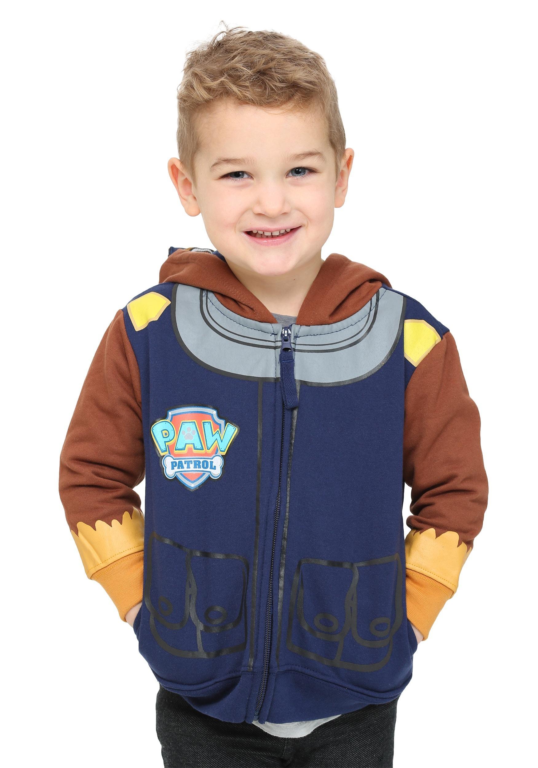 Kids Chase Paw Patrol Costume Hoodie FZABSB217