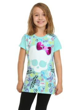 Monster High Cool Skullette Girls T-Shirt
