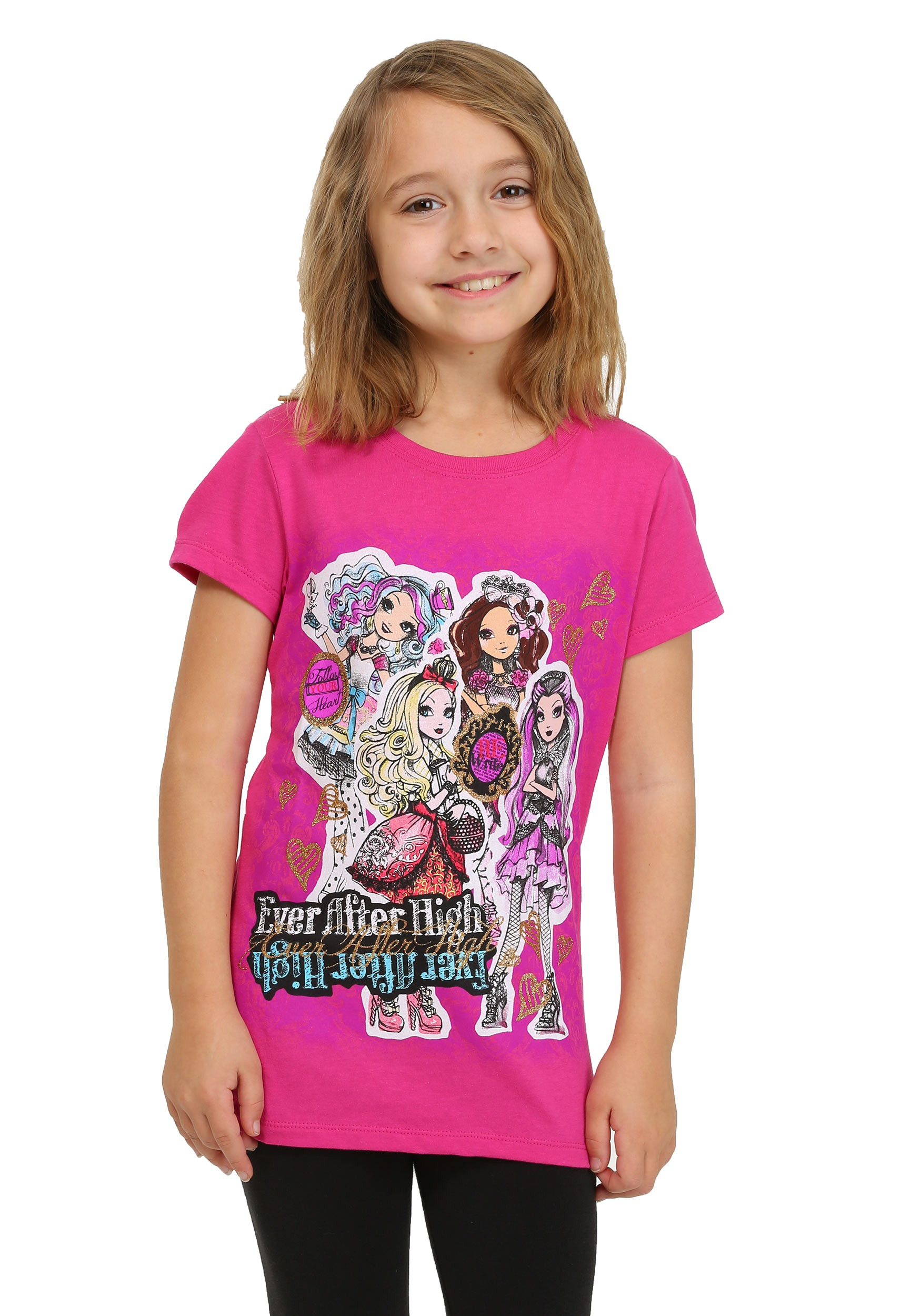 Ever After High Group Shot Girls T-Shirt