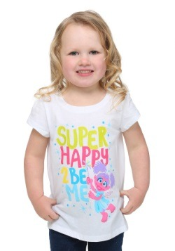 Sesame Street Happy To Be Me Abby Toddler Girls