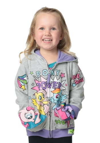 My Little Pony Pocket Frenz Toddler Girls Hooded Sweatshirt