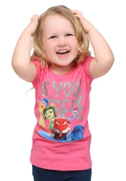 Inside Out Be Yourself Girls T-Shirt