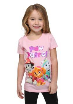 Paw Patrol Group Shot Girls T-Shirt