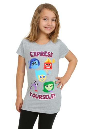 Inside Out Express Yourself Girls T-Shirt