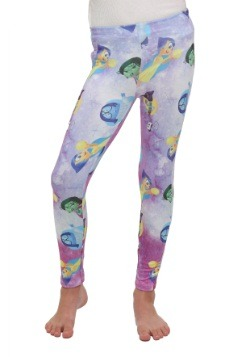 Inside Out Emotions Sublimated Girls Leggings