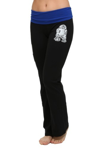 Women's Star Wars R2D2 Rebel Yoga Pants