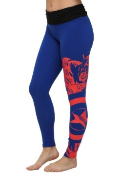 Marvel Captain America Yoga Pants