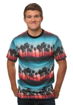 Neff Men's Sunset Dreams Tee