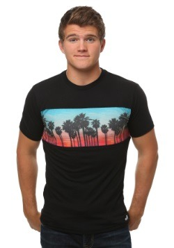 Neff Men's Palm Stripe Tee