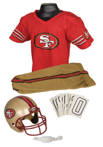 San Francisco 49ers Kids NFL Costume