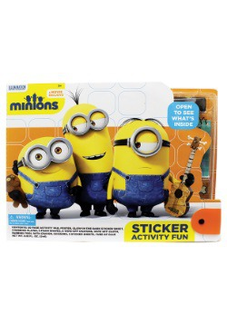 Minions Large Sticker Activity Fun Kit