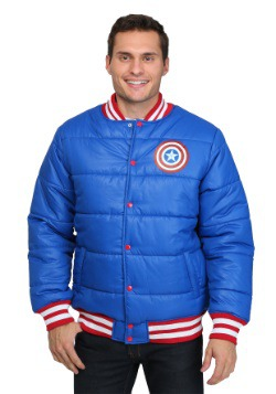 Captain America Puff Jacket