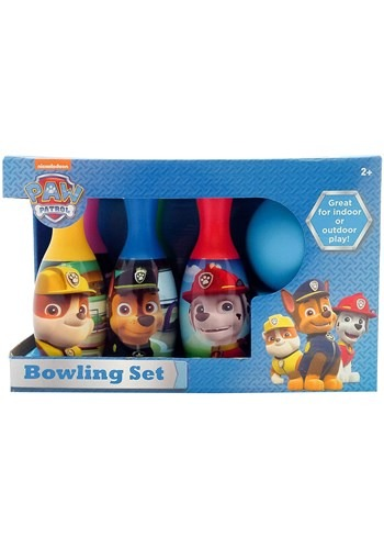 Paw Patrol Child Bowling Set New